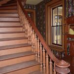 Entryway stair case